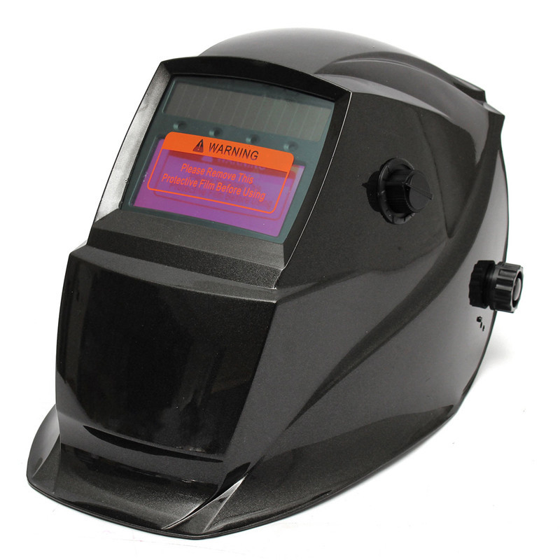 цены Hot Sale Big View Area Solar Automatic Darkening Welding Helmet Mask For Arc Mig Tig Weld Black for Welding Machine