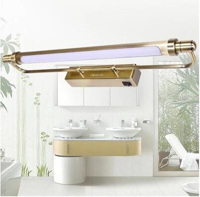 Classic Bronze LED Bathroom Mirror Lights Lamparas Pared Vintage Wall Lamp Lights Vintage Wall Sconces Wandlamp цена