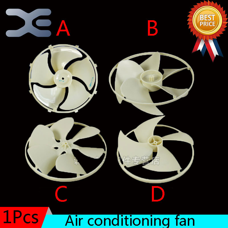 4 Models Home Appliance Parts Air Conditioner Home Fan Ventilation Air Conditioner Parts With Frame Fan Leaf Damper air conditioner outdoor device fan blade 401x115mm