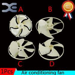 4 модели Запчасти для бытовой техники кондиционер дома вентилятор Запчасти для кондиционера с Рамки вентилятор листьев гаситель