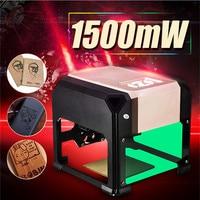 1500mW Golden CNC USB DIY Logo Mini Desktop Laser Engraving Machine Engraver Printer Wood Router Laser Carver Woodworking Tool