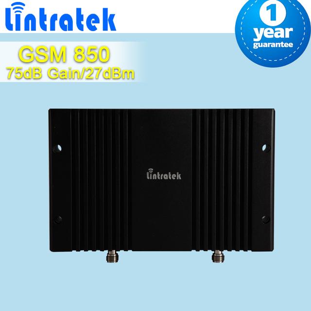 Control de Ganancia Manual cubrir un Área Grande GSM CDMA 850 mhz Teléfono Móvil Amplificador de Señal 75dB Ganancia 27dBm Repetidor Celular Amplificador