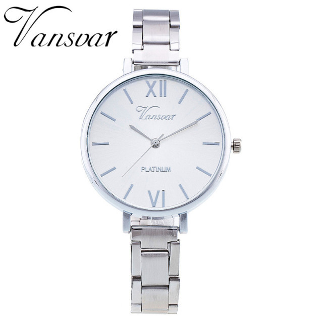 Dropshipping Everyday Bracelet Watch Casual Women Wrist Watch Stainless Steel Quartz Watch Relogio Feminino Clock