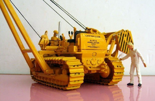 Sale!!Promotion 1:50 NORSCOT 55210 Cat 572C Pipelayer with Metal Tracks toy free shipping