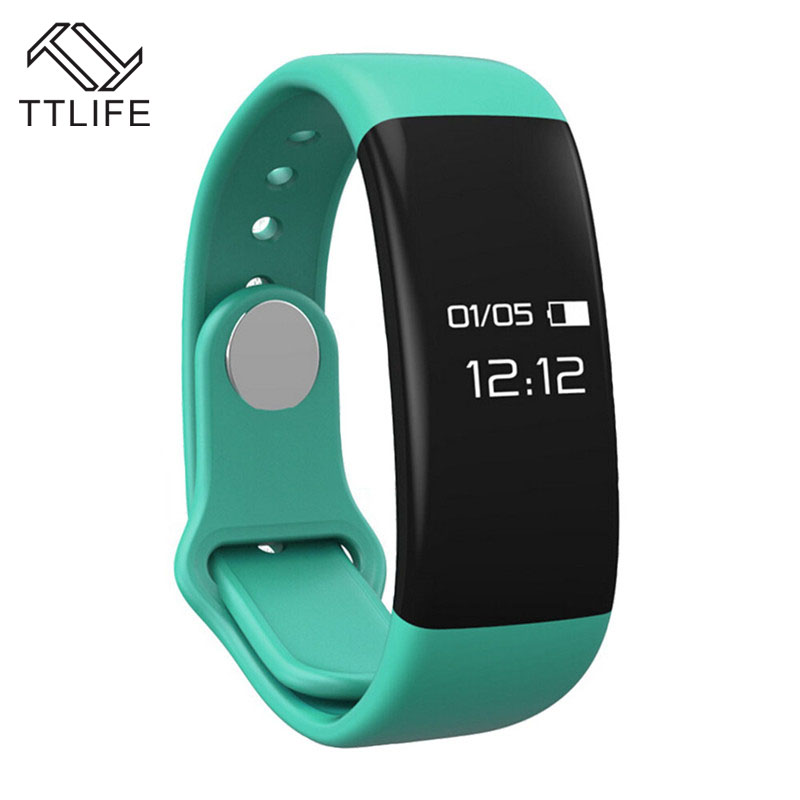 TTLIFE Smart Bracelet H30 Bluetooth Smartband Heart Rate Monitor Wristband Tracker Fitness Watch for Android/iOS PK Mi band 2