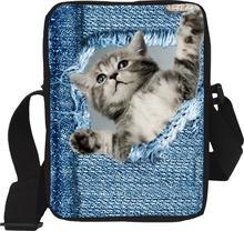 Original Cute Cat Messenger Travel Bags for Women High Multifunctional Girls Shoulder Bags Crossbody Bolsa Feminina