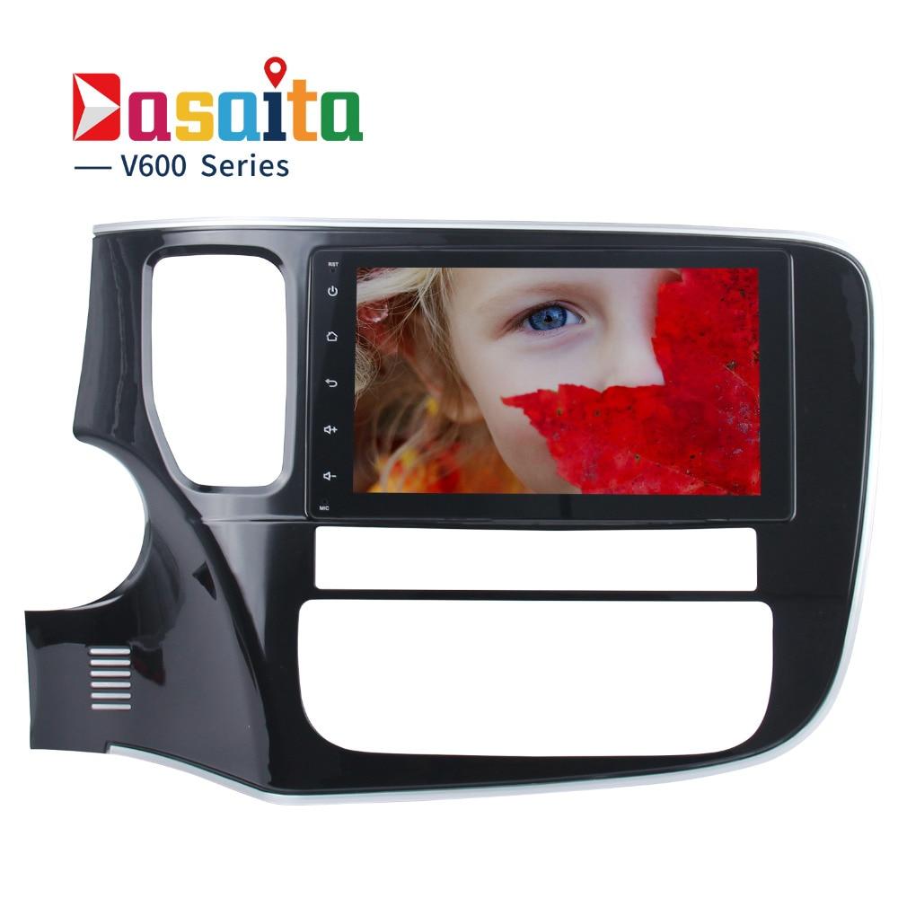 Dasaita 8 Android 8 0 Car GPS Player for Mitsubishi Outlander 2014 2016 with Octa Core