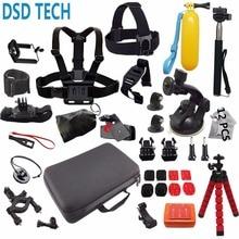 DSD TECH pour Gopro accessoires go pro montage grand cas sjcam pour gopro hero 5 4 3 2 1 session sj4000 sj5000X xiaomi yi action 12E