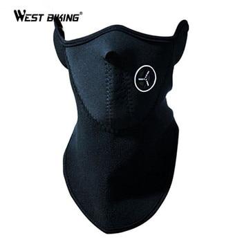 WEST BIKING BMX Team Wear Dustproof Masks Bike Face Guard Bicyle Motor Veil 3 Colors Winter Sports Ski Snowboard Cycling  Mask