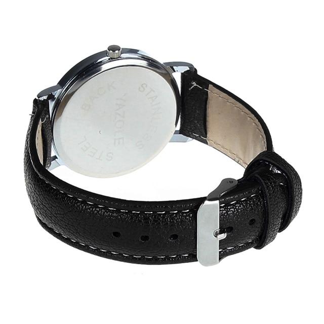 2017 New Luxury Fashion Elaborato Classica Faux Leather Mens di Quarzo Analogico Vigilanza di Affari Orologi Regalo Caldo Per Dropshippig L529