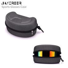 JayCreer Лыжная сумка для защитных очков чехол жесткий футляр застежка-молния держатель для переноски EVA сумка Защита для лыжных очков Солнцезащитные очки