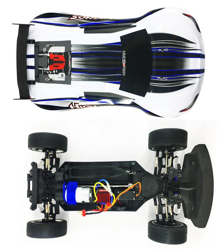 Профессиональный RC гоночный автомобиль HG P103 2,4G 4WD 30 40 км/ч высокая скорость р/у автомобиль для дрифта большой размер дистанционного управлен