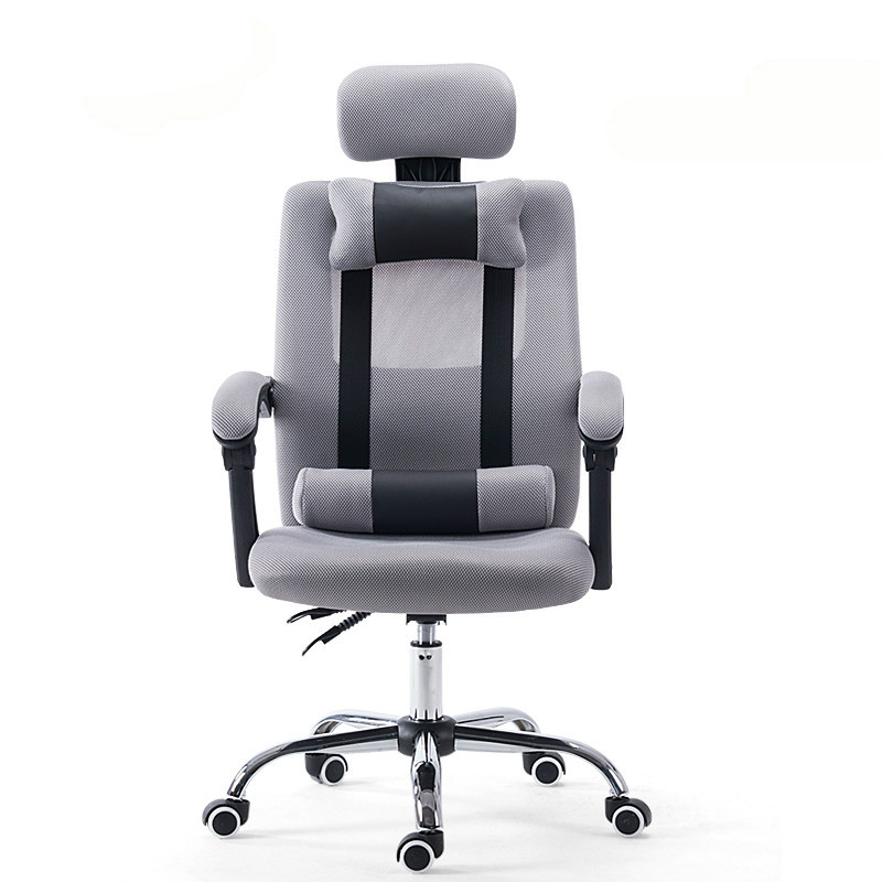 New arrival home office staff chair lift rotatable mesh ergonomic seat computer chair home office chair mobile no handrail small lift swivel chair mesh staff chair