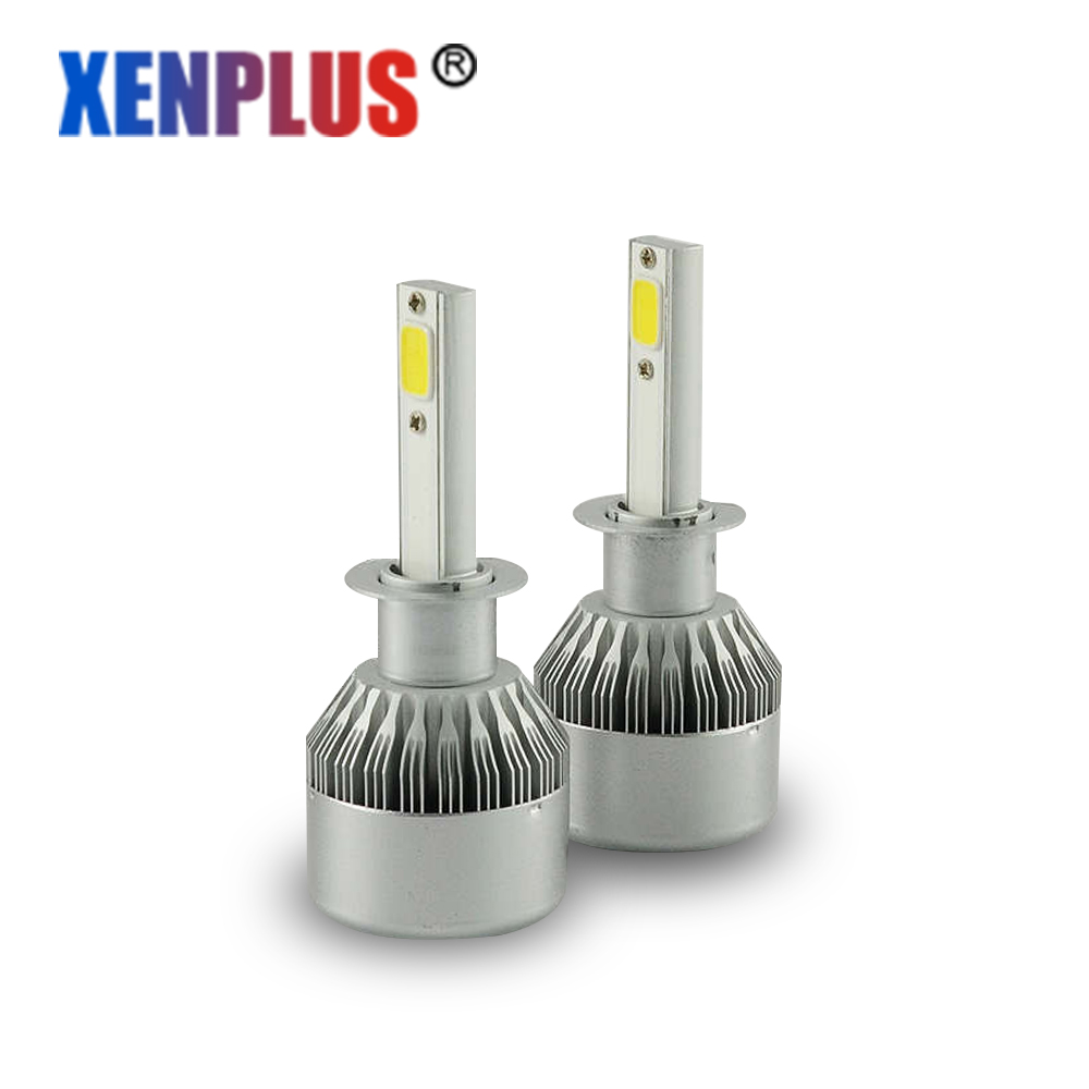 Xenplus Super Parlaq H4 Led Lampa 72W 7600Lm Avtomobil - Avtomobil işıqları - Fotoqrafiya 1