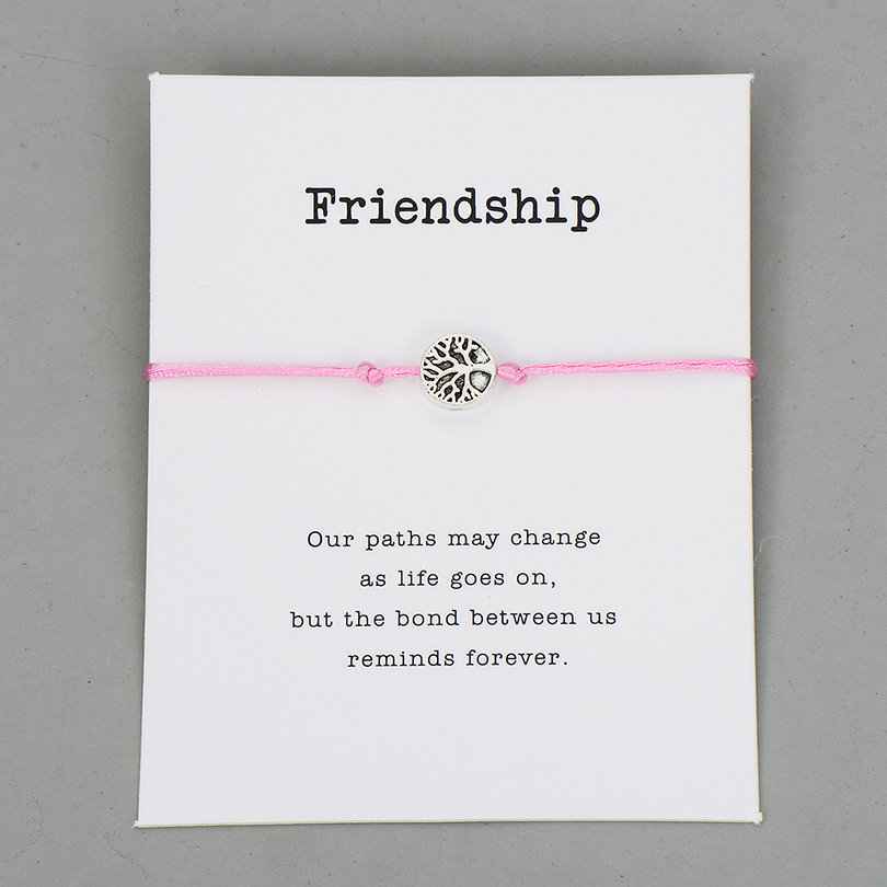 light pink with card