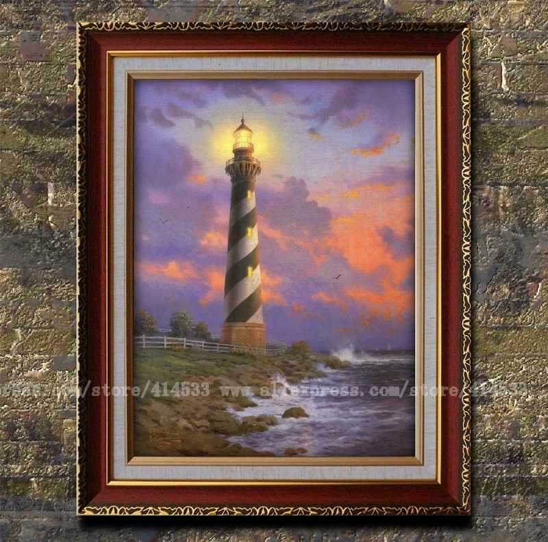 Compare Prices On Thomas Kinkade Lighthouse Online Shopping Buy Low Price Thomas Kinkade