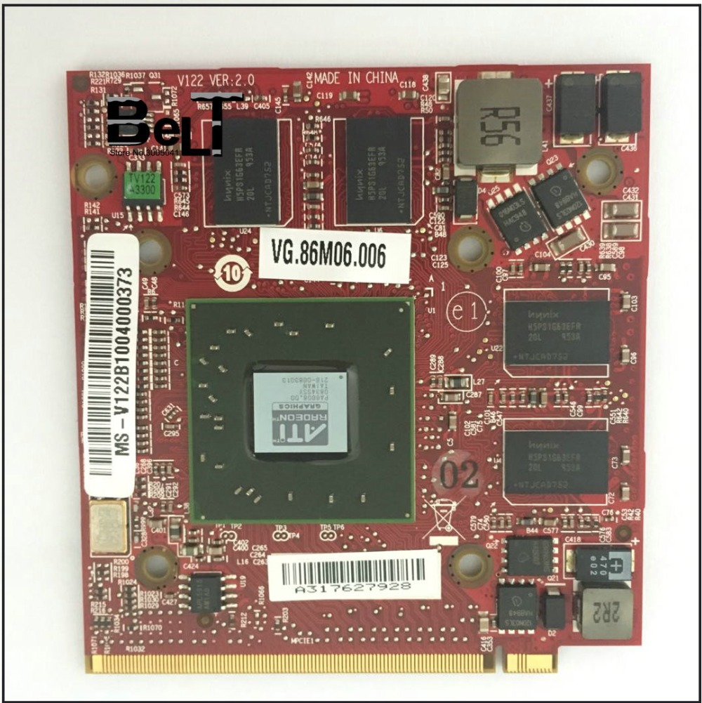HD3650 HD 3650 1GB 216 0683013 VAG Video Card For Acer 4730 4930 4630 5920 5520