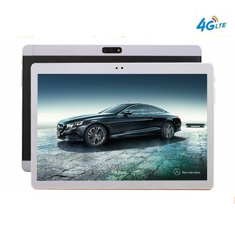 10 Core 10.1 'Tablet Android 7.0 128 gb di ROM Doppia Fotocamera 8MP Dual SIM Tablet PC 2560X1600 GPS WIFI bluetooth del telefono MT6797 320 dpi