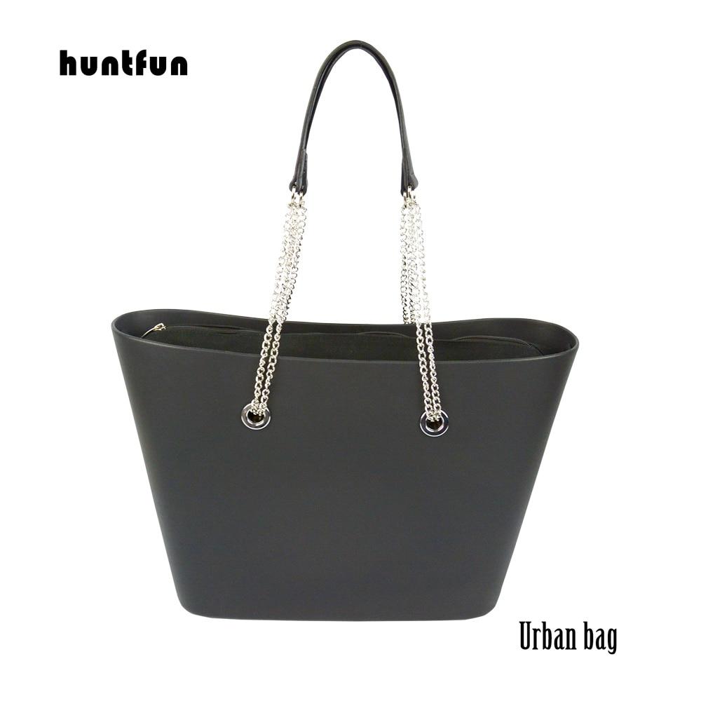 huntfun New O bag urban Body Women s Bags Fashion Handbag DIY with waterproof silver screw