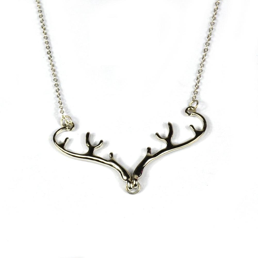 Women/'s Jewelry Pendant Metal Deer Choker Chunky Statement Chain Bib Necklace