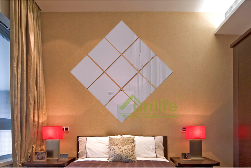 Aliexpress.com : Buy Funlife(TM) DIY Mirror Wall Sticker,Removable Home  Decor Funlife DIY Square Geometry Nursery Kids Room Decor Reflective  Acrylic From ...
