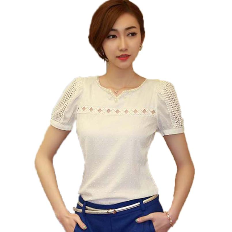 Los Camisas Blusas Femininas Mujeres blusas S ~ XXL Tropical Blusa Camisa de Enc