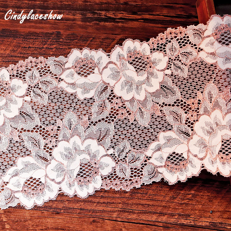 "laverslace Pale Rose Pink Cotton Cluny Crochet Lace Trim 1.25/""//3cm Sewing"