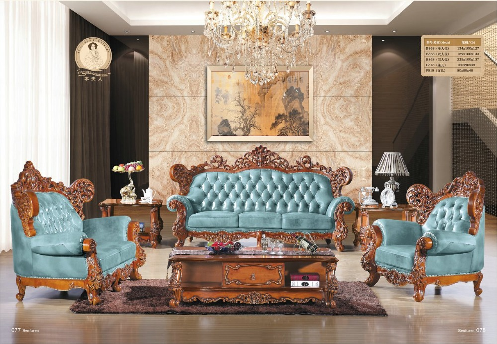 Online get cheap carved sofa set alibaba for Get cheap furniture