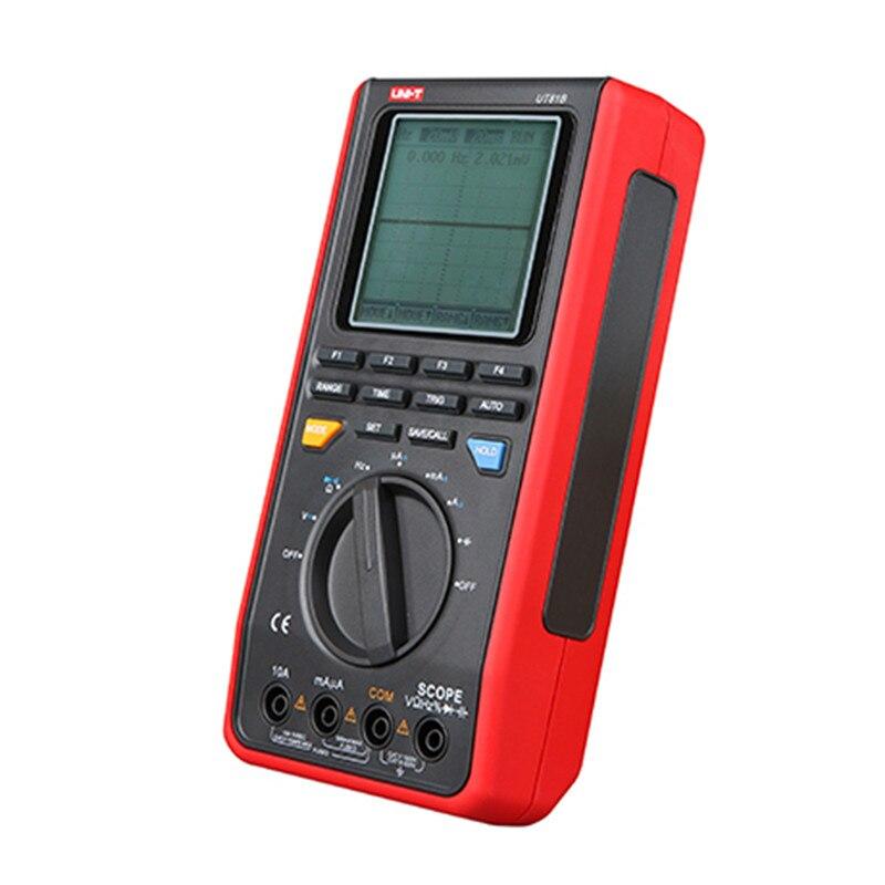 UNI T мультиметр UT81B Цифровой мультиметр авторазгон w/USB/ЖК метр тестер осциллограф Multimetro UNI T UT81B ЖК подсветка - 4