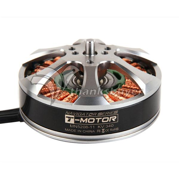 T-Motor 4-6S MN5208 KV340 24N22P Brushless Motor for RC Drone Quad Hexa Octa Multicopter t motor series mn3515 400kv navigator series motor for quad hexa octa multicopter