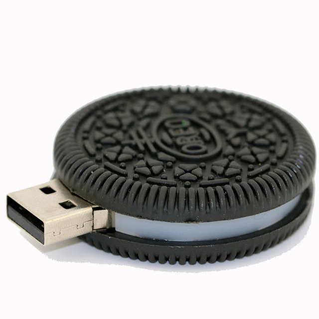 Oreo cookie USB stick pen drive 1GB/2GB/4GB/8GB/16GB/32GB/64GB