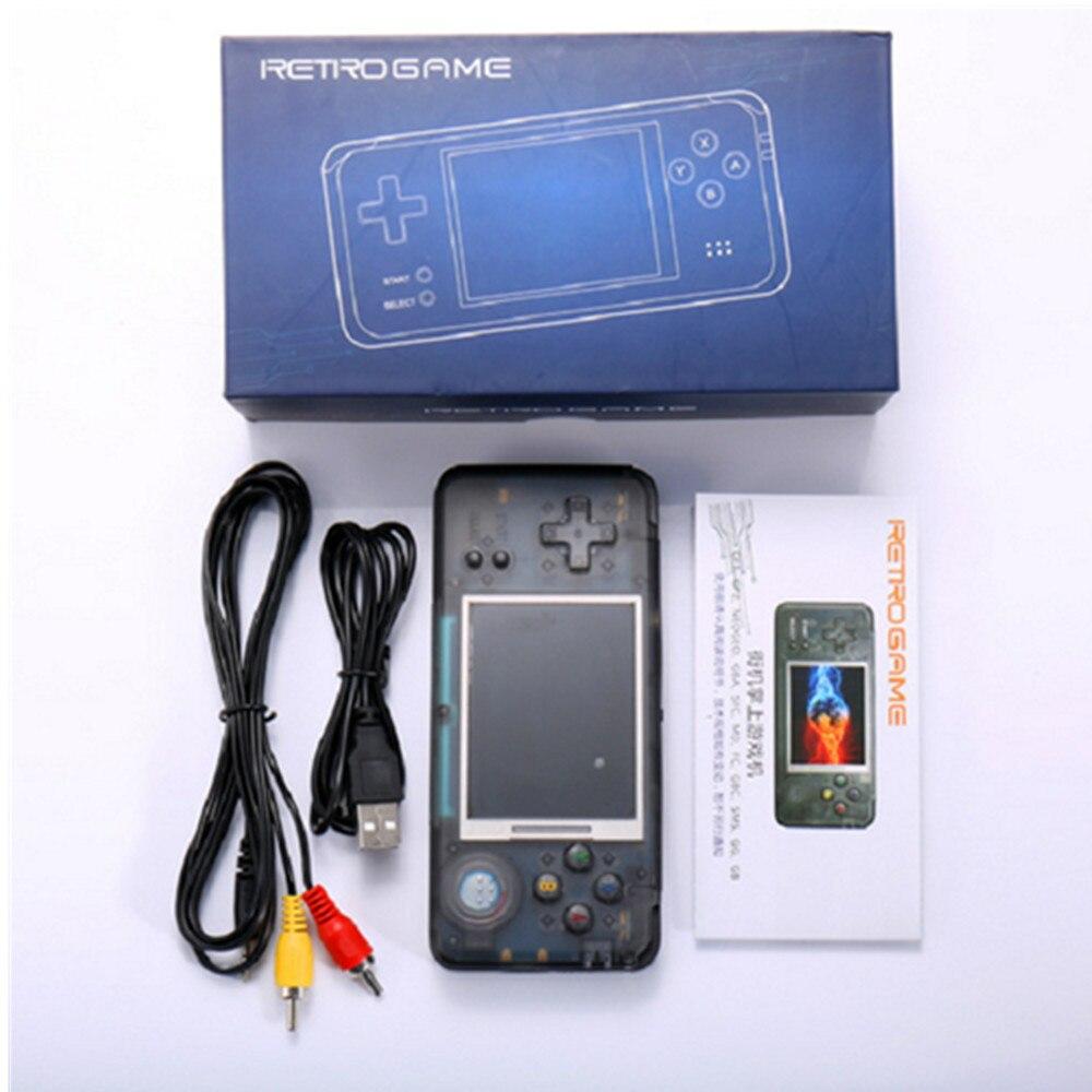 Coolbaby RS-97 rétro Console de jeu de poche jeux électroniques pour enfants rétro vidéo émulateur rétro mini enfants jeux rétro jeu