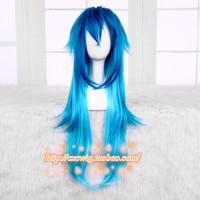 Japan Game DRAMAtical Murder mens Seragaki Aoba wig cosplay DMMd Seragaki Aoba role play blue gradient hair wig costumes
