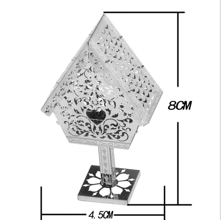 3D Metal Puzzle Model Kit DIY Stainless Steel Starship DOCTOR WHO TARDIS Animal Ship Adult Jigsaw DIY Jigsaw Manual Gift Toys 34