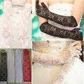 Пять пальцев свадьбы кружева свадебные перчатки доступен в 3 цветах длина 42 см