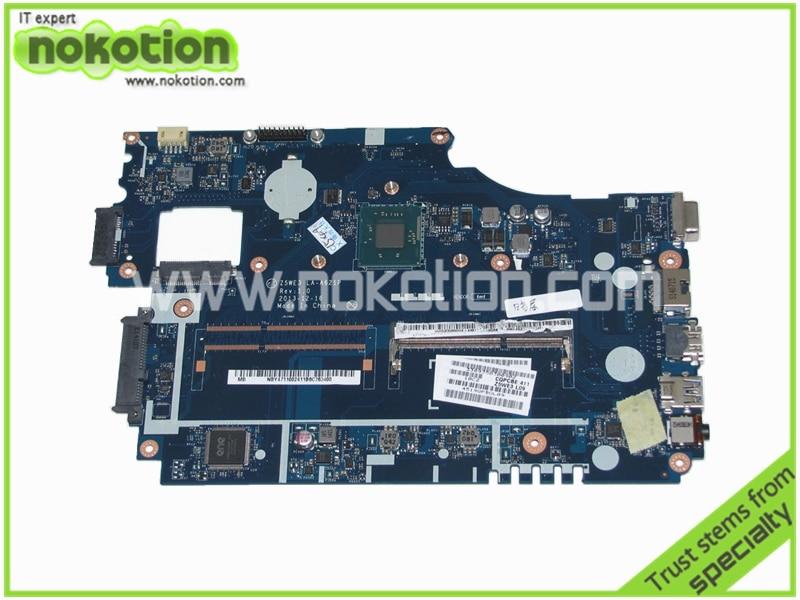 NOKOTION LA-A621P NBY4711002 Laptop motherboard for Acer Aspire E1-510 E1-510-2500 Main board laptop motherboard fit for acer aspire 3820 3820t notebook pc mainboard hm55 48 4hl01 031 48 4hl01 03m
