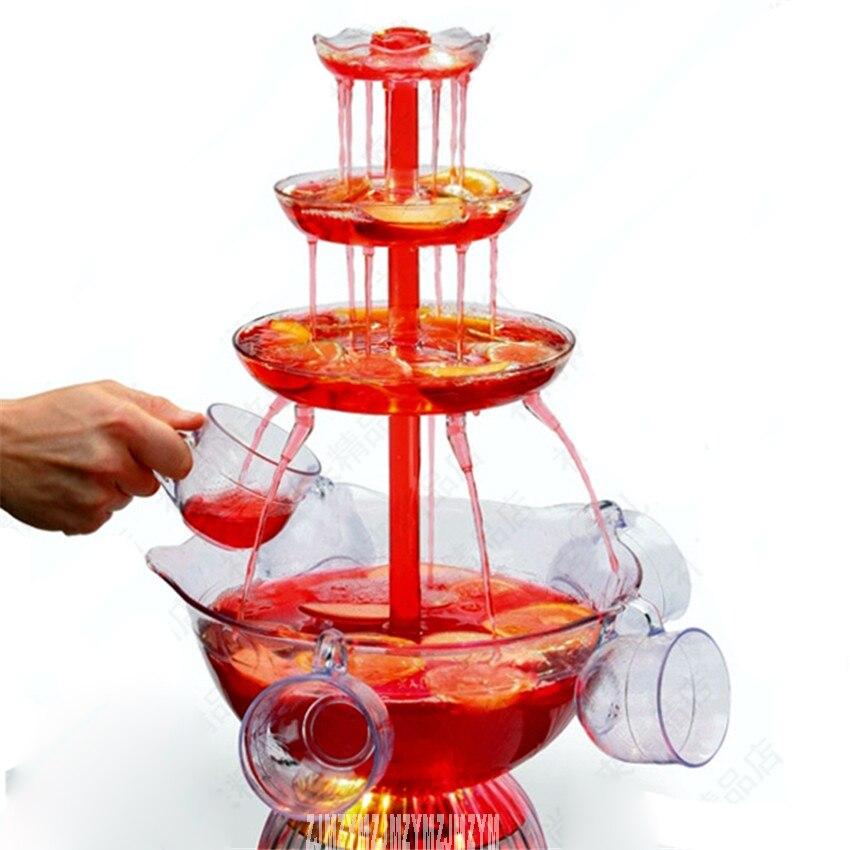 HJJ-801 factory hotel buffet restaurant wine fountain wine export machine Chocolate Fountain 110V/ 220V Red wine Fountains 25W мистерия buffet красная
