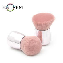 ESOREM Mushroom-shaped Storage Makeup Brushes Portable Foundation Brush Loose Powder Short Shader Brochas Maquillaje XF0101