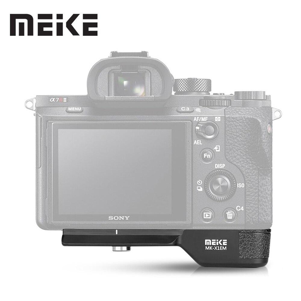 лучшая цена Meike MK-X1EM metal hand grip for Sony A9 A7MIII A7RIII A7RII A7II A7SII Camera