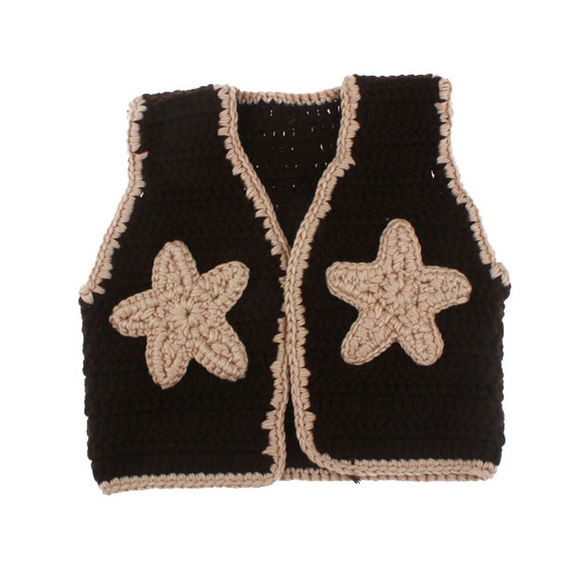 Baby Western Cowboy Hat Boots Vest Costume Outfit Newborn ...