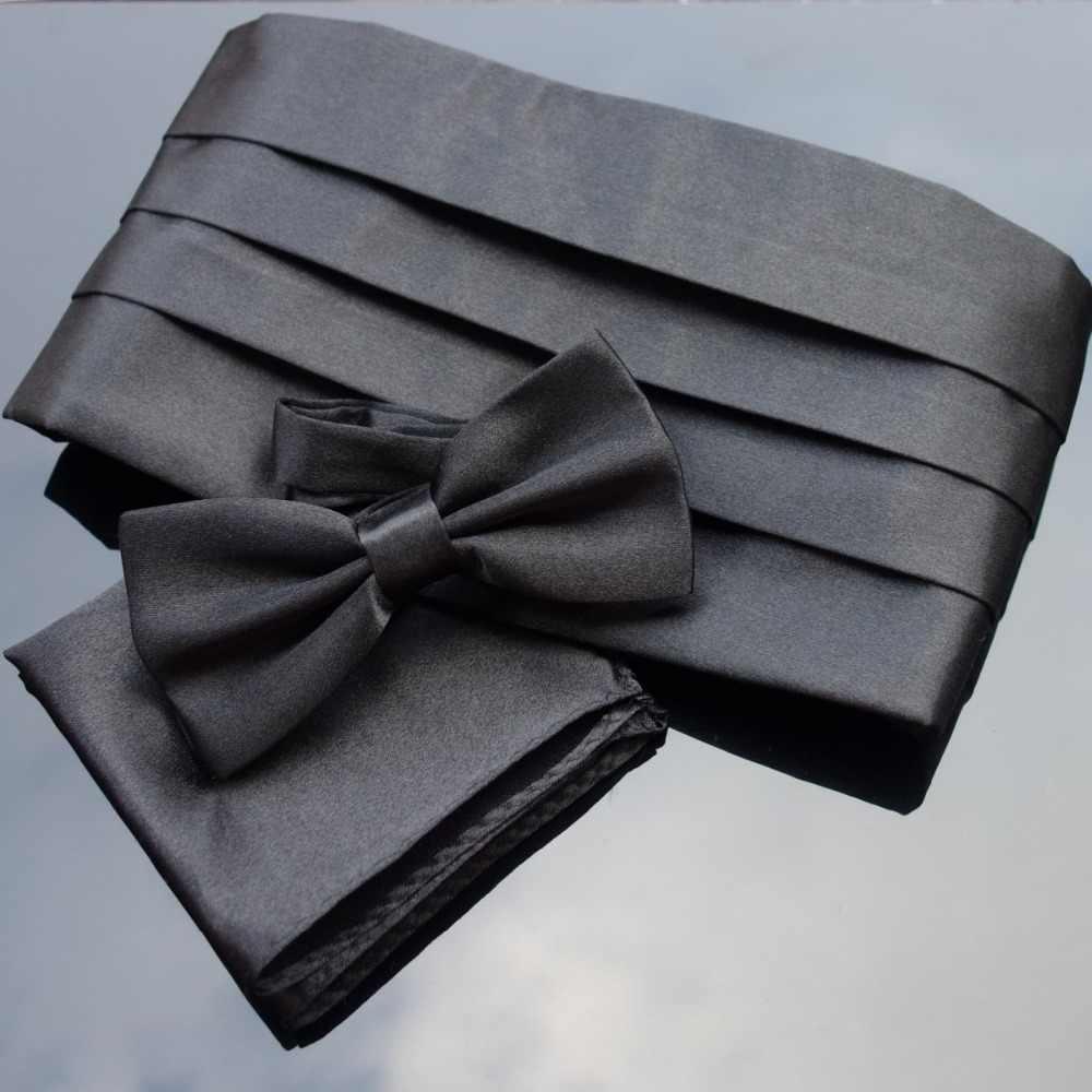 Faja de esmoquin pajarita en diferentes colores/ /faja de seda 100 /% TigerTie pa/ñuelo de bolsillo