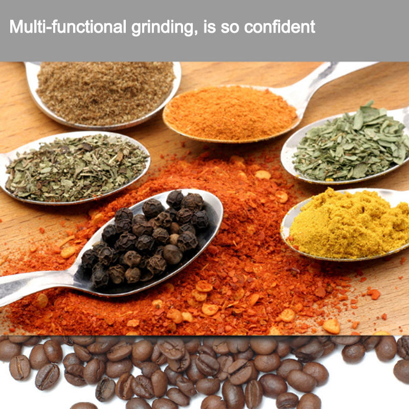 Household electric grinder coffee beans grinder kitchen minicomputer western medicine grinder baby milling machine l beans household coffee beans grinder manual coffee machine adjustable thickness hand grinder