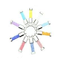 New fashion diamond usb flash drive Crystal series pen drive Waterproof usb stick 128/256/512GB memory stick shining U disk