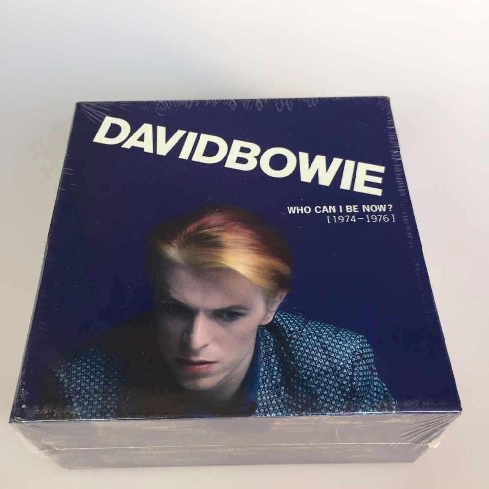 David Bowie Who Can I Be Now CD 1974 To 1976 NEW Sealed 12CD Music cd box set Brand New factory sealed top quality free shipping sweet soul of the 70s time life 11 cd box set 11cd music cd boxset box set brand new sealed free shipping