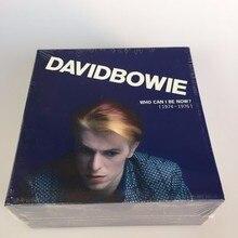 Дэвид Боуи которые я могу быть теперь CD 1974 до 1976 новые Запечатанные 12cd Музыка CD Box Set Фирменная новинка фабрики герметичные наивысшего качества Бесплатная доставка