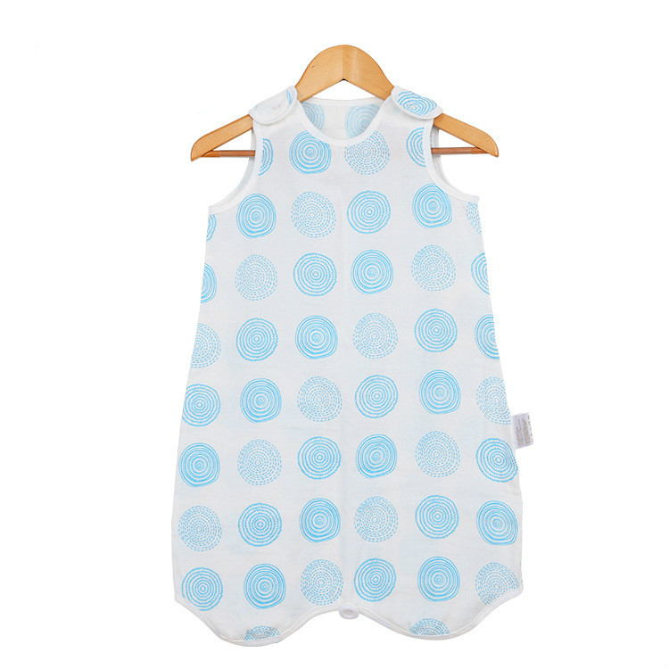 Baby Sleepsacks Vest Style Gauze Sleeping Bag air conditioned room Child Baby Anti Kicking Artifact Spring And Summer cotton in Blanket Swaddling from Mother Kids