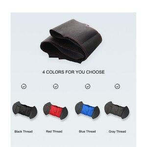 Image 5 - มือเย็บหนังนิ่มสีดำพวงมาลัยรถครอบคลุมสำหรับChevrolet Cruze 2009 2014 Aveoออร์แลนโดHolden Cruze ravon R4
