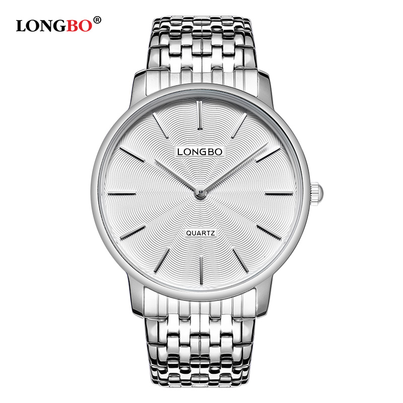 LONGBO 2017 Luxury Women Watches Fashion Men Waterproof Quartz Wristwatch Montre Hombre Reloj Mujer Couple Lover Watch Gift 5061