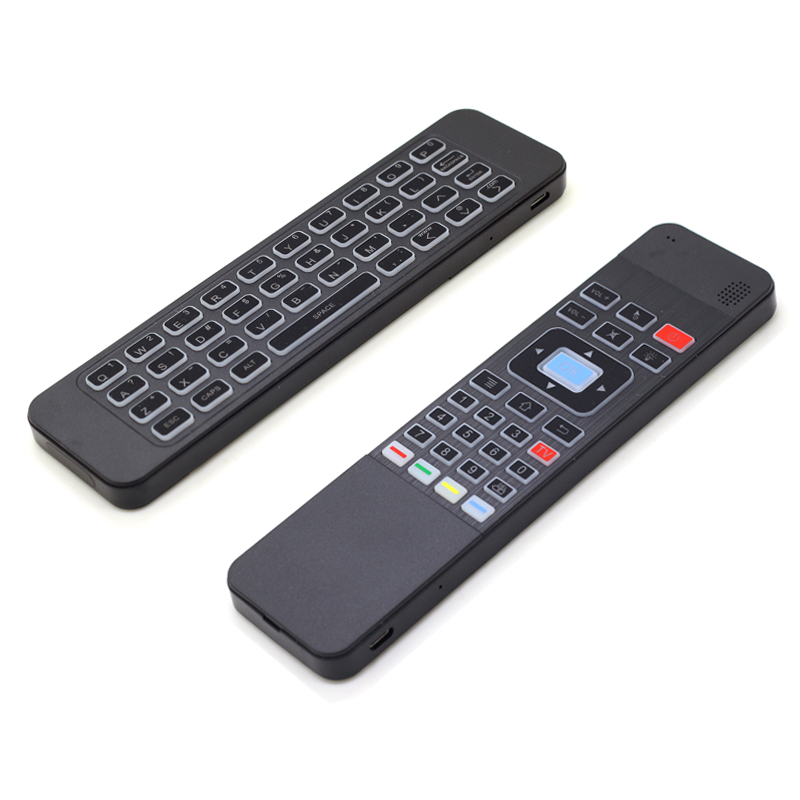 [100pcs/lot] P3 RGB Backlit 2.4G Mini Wireless Keyboard Air Mouse With IR Learning Function For Android TV Box, Mini PC, Laptops