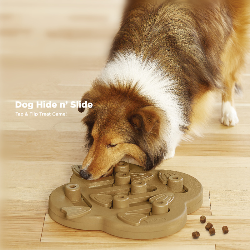Dog Hide & Slide Treat Toy Pet Dog Puppy High IQ Development Training Interactive Game Toy Educational Food Feeder Toys